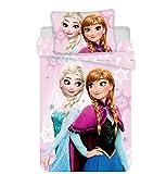 Jerry Fabrics Disney Frozen Baby Bed Set, Cotton, Multicolour, Size 40x60 + 100x135 cm