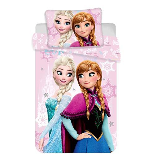 Disney Frozen - die Eiskönigin Babybettwäsche Set 100/135 + (Die Frozen Disney)