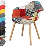 Dettagli d'articolo:Materiale: tessuto di lino + legno di faggio Altezza totale: 80,5cm Altezza Schienale: 40 cm Dimensioni Seduta: 47 x 49cm (P x L) Colore: bianco, grigio, nero, blu, marrone, giallo, viola, rosso e patchwork.Il peso dell'ar...
