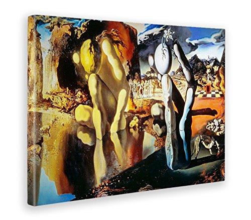Giallobus - Bild - Druck AUF LEINWAND - Salvador DALI - LA METAMORFOSI DI Narciso - 100 x 140 cm -