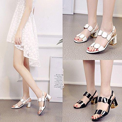 ZHANGRONG-- Mode féminine d'été pantoufles Pantoufles Dames avec des pantoufles fraîches avec des pantoufles Dans les sandales (4 couleurs en option) (taille facultative) ( Couleur : D , taille : 35 ) A