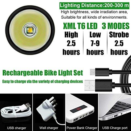 d17b5274295 LED Bike Light Set
