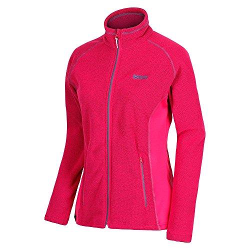 51NY35A5kwL. SS500  - Regatta Women's Tafton Full-zip Lightweight Honeycomb Fleece
