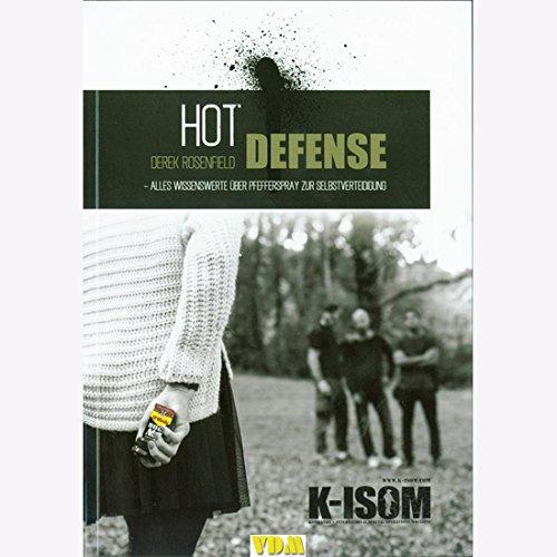 Preisvergleich Produktbild K-ISOM Hot Defense Pfefferspray Technik Zweikampf Selbstverteidigung Notwehr