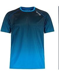 Regatta Great Outdoors - Camiseta manga corta Modelo Hyperdimension Hombre  caballero (Pequeña (S) Azul… 8321825b138