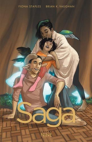 Saga Vol. 9 (English Edition) por Brian Vaughan