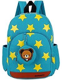 Preisvergleich für PENGYUE Kinderrucksack Kindergartenrucksack Kinder Rucksack Fashion Bestickt mit Star Lässig Niedlicher Karikatur...