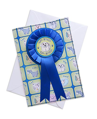 Personalizzato Pets Happy Birthday rosette di