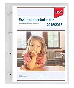 éducatrices Calendrier 2015/2016, A4avec classeur à anneaux