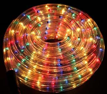 10m Multi Coloured Rope Light