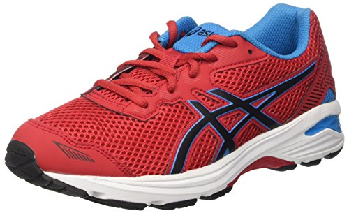 Asics Kinder-Unisex Gt-1000 5 GS Gymnastik, Rosso (True Red/Black/Blue Jewel), 33 EU