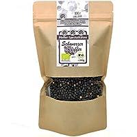 Bio Pfeffer schwarz ganz aus Sri Lanka ideal für die Pfeffermühle von direct&friendly (250 GR)