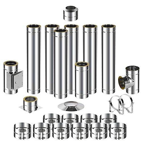 ADT acier inoxydable Cheminée Kit DW 1507,7m 0,6