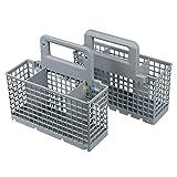 Wpro DWB304 ORIGINAL Besteckkorb Korb teilbar 125/200mm x 220mm x 164mm Spülmaschine Geschirrspüler auch Whirlpool Bauknecht 484000008561