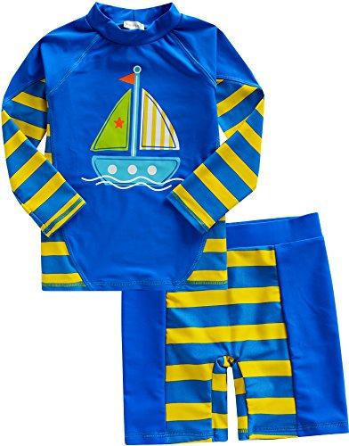 Vaenait Baby 86-122 Jungs Rashguard Baby Bademode 2 pcs Set Beach Boy XL