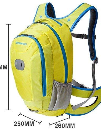 ZQ 18 L Rucksack Camping & Wandern / Radsport Draußen Wasserdichter Verschluß / Feuchtigkeitsundurchlässig / Stoßfest Gelb / Rot / BlauPVC / Yellow