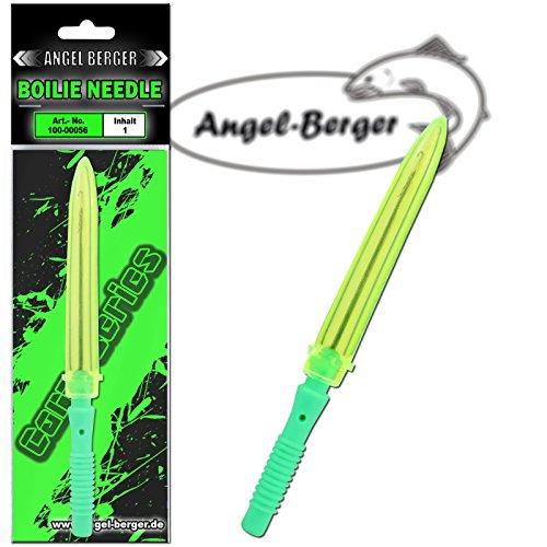 Angel Berger Boilienadel mit Klappe Grün