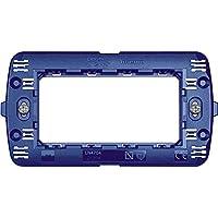 bticino SLN4704F Interruptor y Marco para enchufes - interruptores y Marcos para enchufes (Azul, De plástico, Bticino, S504EF, Convencional)