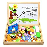 StillCool Holzpuzzle Magnetisches Spielzeug Holzpuzzle Kinderpuzzle Doodle Tafel...