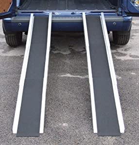 Aidapt 7 Feet Long Mobility Telescopic Channel Ramp