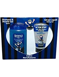 FC Inter Gift Set Shampooing + Action Gel nerazzurro