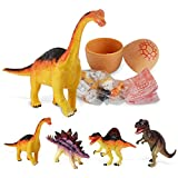 LILICAT 2018 New Creative Simulation Dinosaur Toy Model Deformed Christmas Easter Dinosaur Egg Collection Toys Gift for Kids and Adults (Random)