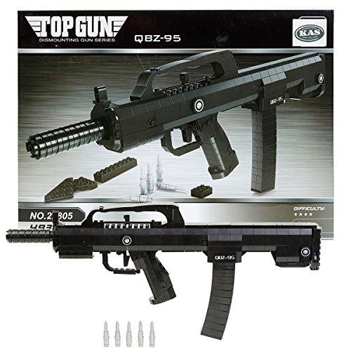 Unbekannt Toy Building Bricks Famas Gun 493 Teile - kompatibel mit Anderen Marken