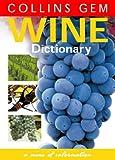 Wine Dictionary (Collins Gem)