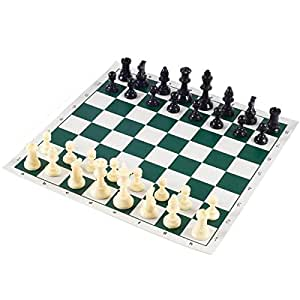 SPEEDY CHESS SET (VINYL MATT + COINS) IN ATTRACTIVE CARRY CASE