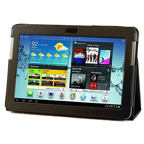 Luxus Lederhülle für Samsung Galaxy Tab 2 10.1 P5110 + EINGABESTIFT