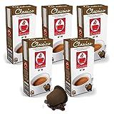 Bonini Kaffeekapseln, Classico - Nespresso kompatibel - 5er-Pack (5 x 10 Kapseln)