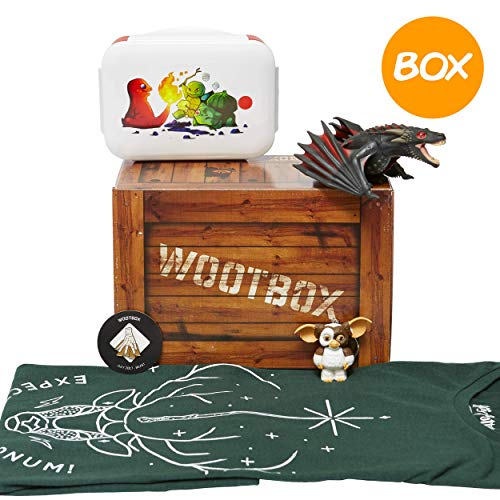 WOOTBOX Beast - Caja de Regalo - Harry Potter - Juego de Tronos - Delantales - Bento - Tamaño 2XL Gizmo, WTB-2017-007-FR-00H-02XL-000, marrón