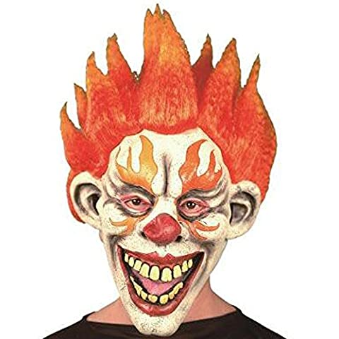XIAO MO GU Masque Carnaval Clown Halloween Horreur Rubber Mask Costume Party pour Adultes