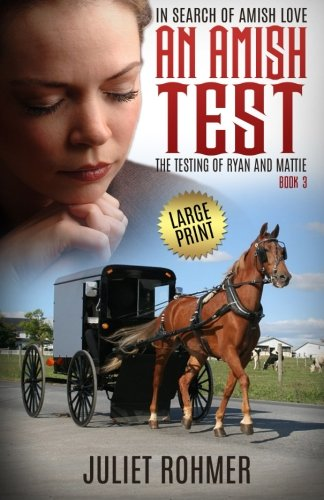 An Amish Test Large Print The Testing Of Ryan And Mattie In Search Of Amish Love Volume 3