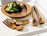 Premier Housewares Acacia Wood Salad Servers