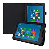 kwmobile Custodia per Lenovo A8-50 (A5500) - Cover protettiva per Tablet Lenovo A8-50 (A5500) - Copertina in pelle PU con Stand - Smart Case