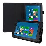 kwmobile Lenovo IdeaTab A8-50 (A5500) Hülle - Tablet Cover Case Schutzhülle für Lenovo IdeaTab A8-50 (A5500) mit Ständer