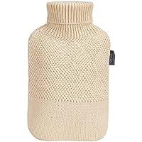 Wärmflasche, Wärmflasche Mit Abdeckung 2L Premium Knit Abdeckung Komfortable Warme Sicherheitsbescheinigung Reinigbare... preisvergleich bei billige-tabletten.eu