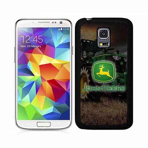 FirstHülleInfo Logo Hülle Für Galaxy S5 Mini, John Deere Retro Design Hülle...