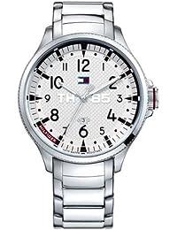 Reloj Tommy Hilfiger 1791053 - Reloj de pulsera hombre, acero inoxidable, color plateado