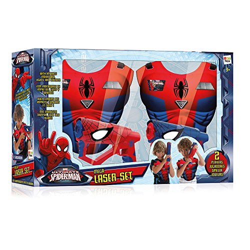 Image of Spiderman Mega Laser Set