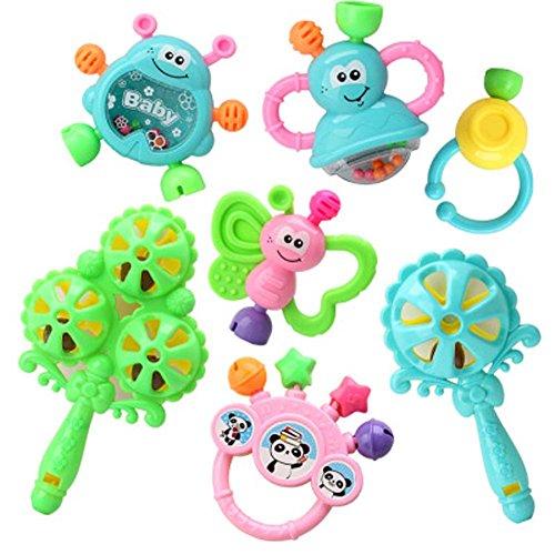 Juguetes para bebés 3-6-12 meses Bebé hongos juguetes educativos 0-1 años de edad de color aleatorio