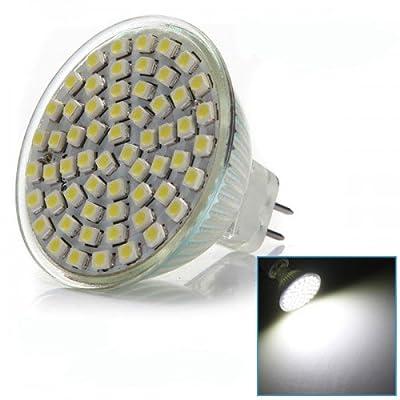 Big Bargain 5x AMPOULE SPOT MR16 GU5.3 60 SMD LED BLANC 220V 6000K 300LM 4W = 60W Lampe NEUF von Big Bargain - Lampenhans.de