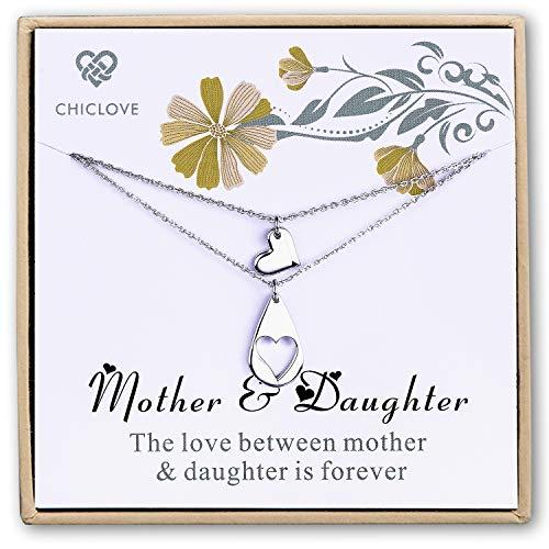 Collana con madre e figlia set di gioielli mamma e me