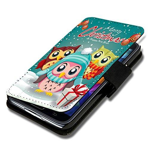 Book Style Flip Handy Tasche Case Schutz Hülle Schale Motiv Foto Etui für Apple iPhone 5 / 5S - X14 Design4 Design 9