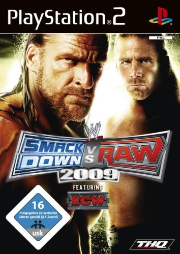 WWE Smackdown vs. Raw 2009 - [PlayStation 2] (Ps2 Games Wrestling)