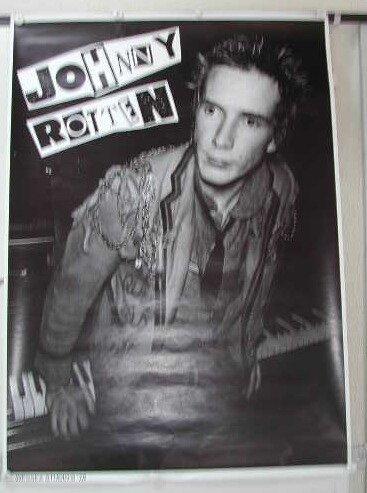 Sex Pistols-Johnny Rotten-59 x 80 cm-Poster locandina