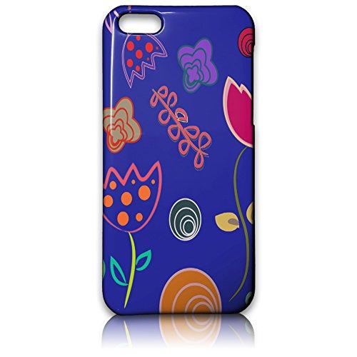farmygadget Coque Case Impression Complète type fleurs–Flowers Étui pour Smartphone Apple 00008h
