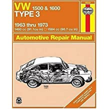 Volkswagen 1500/1600 Type 3 Owner's Workshop Manual (Classic Reprint Series: Owner's Workshop Manual)