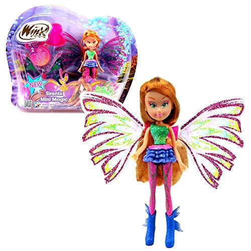 Flora | Sirenix Mini Magic Muñeca | Winx Club | Hada con...